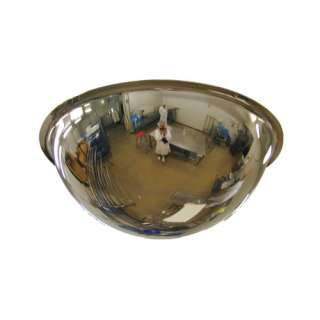 Stainless Steel Dome Food Safety Mirrors