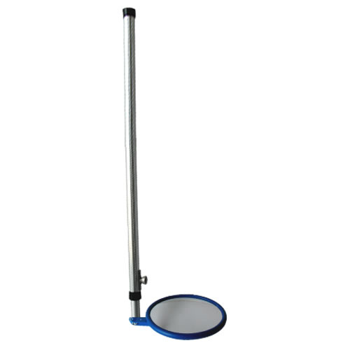 "9"" Heavy Duty Inspection Mirror Long Handle"