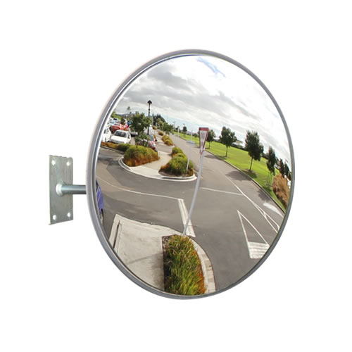 "24"" Outdoor Heavy Duty Stainless Steel Mirror"