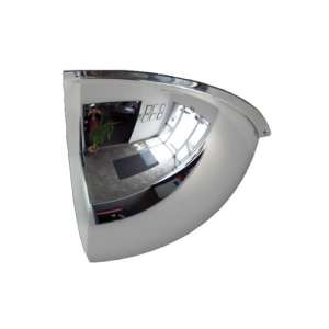 "24"" Indoor Quarter Dome Mirror"