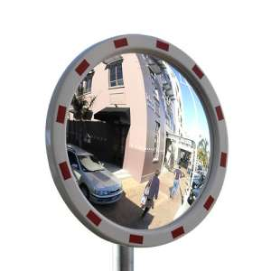 "24"" Outdoor Pro Series Acrylic Convex Mirror"