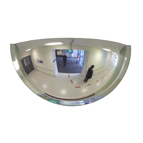 """36"""" Indoor Half Dome Mirror"""
