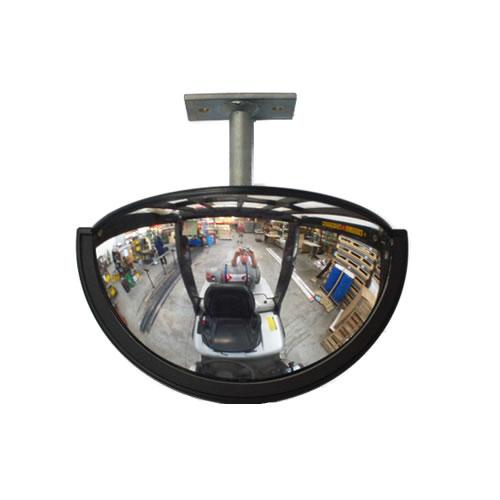 "9"" x 4"" Forklift Half Dome Mirror"