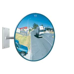 "12"" Outdoor Heavy Duty Acrylic Convex Mirror"