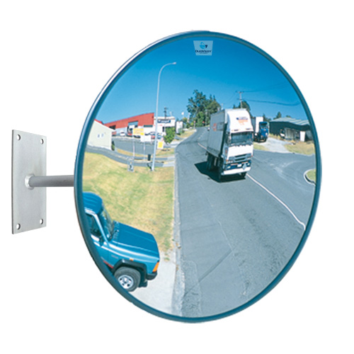 24 outdoor heavy duty acrylic convex mirror for Convex mirror for home
