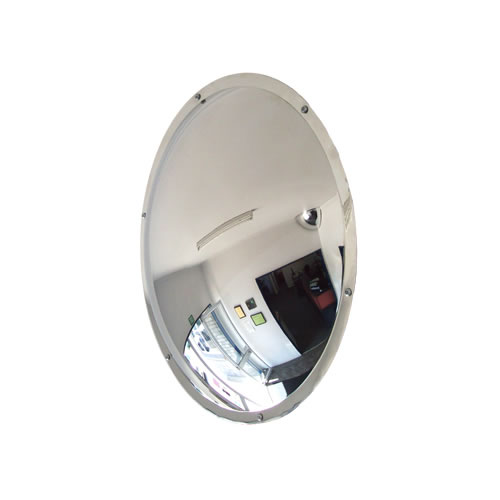 """20"""" Stainless Steel Wall Dome Mirror"""