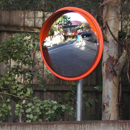32 u0026quot  outdoor stainless steel road mirror