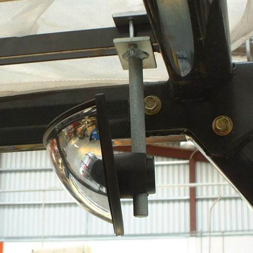 9 Quot X 4 Quot Forklift Half Dome Mirror