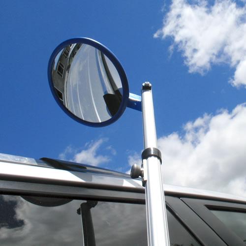 9 Quot Heavy Duty Inspection Mirror Long Handle