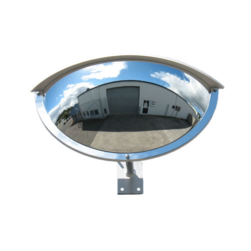 "24"" Outdoor Half Dome Mirror"
