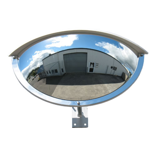 "36"" Outdoor Half Dome Mirror"