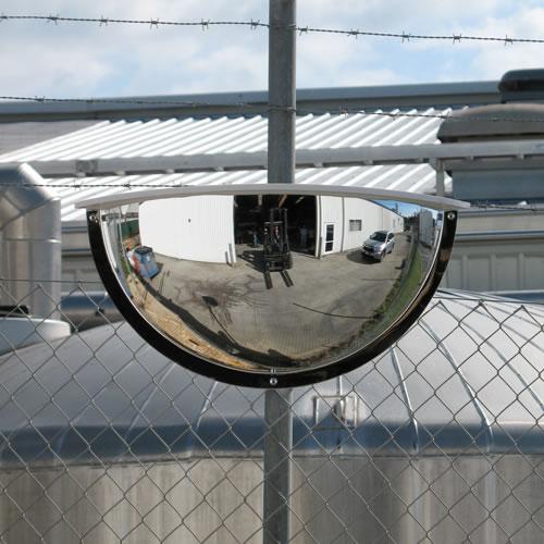 36 Quot Outdoor Half Dome Mirror