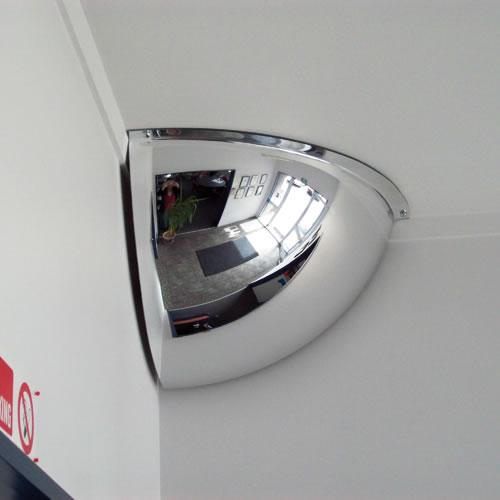 24 Quot Indoor Quarter Dome Mirror