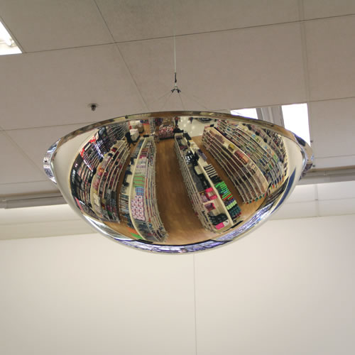 18 Quot Indoor Ceiling Dome Mirror