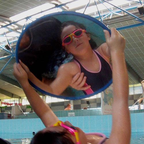 "16"" Learn to Swim Mirror"
